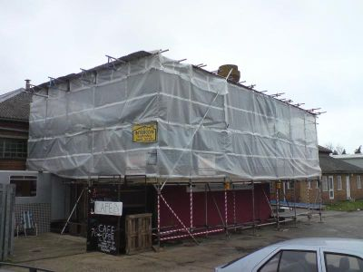 Temporary Roof Tenterden, Intercon