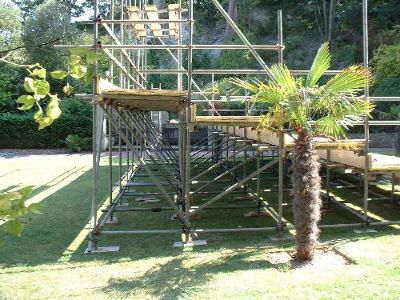 Seating stand by intercon scaffolding (01323) 767777, support scaffolding