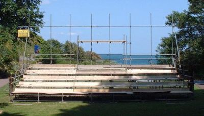 Scaffold Spectator Stand,scaffold seating stand,scaffold tiered seating,public scaffold stand